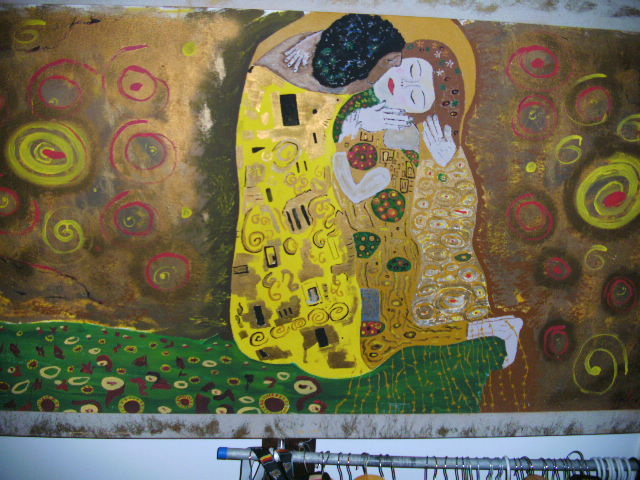The Kiss By Hagenkunst (Own work)
