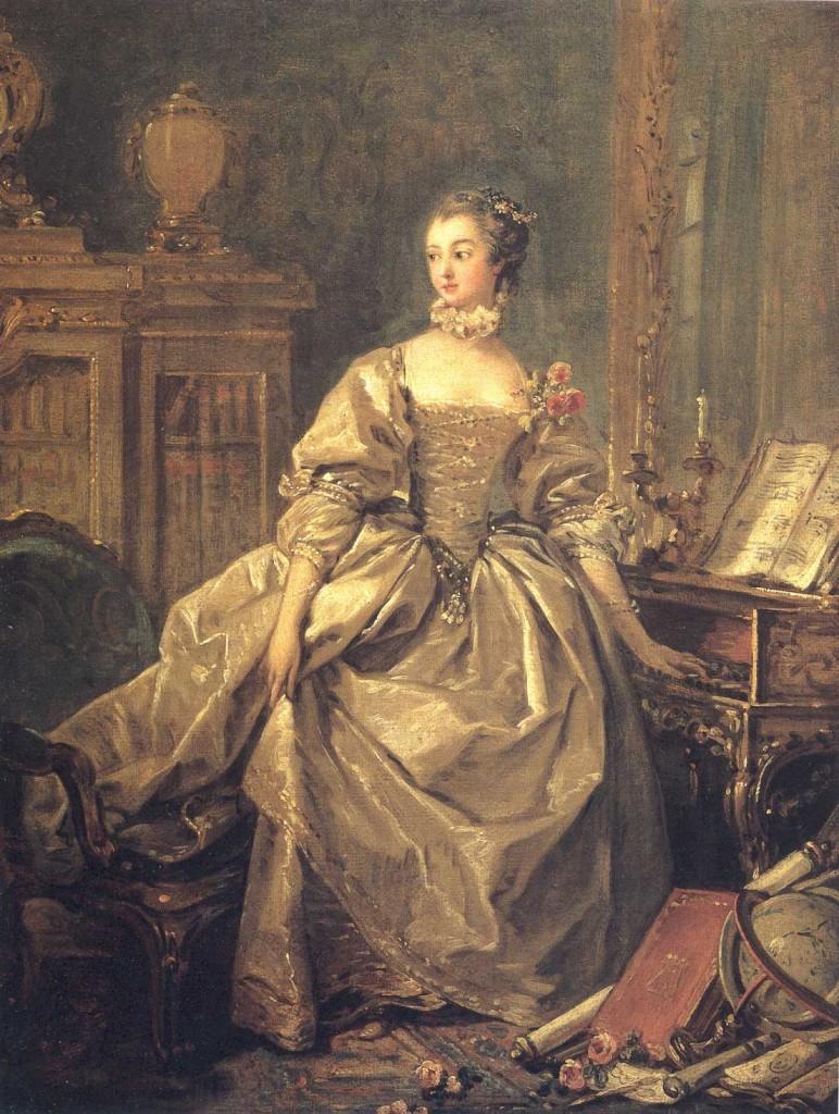 Marquise de Pompadour, 1759.