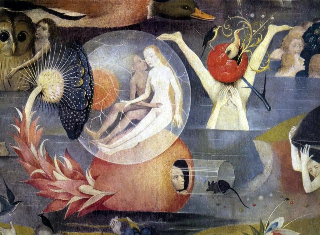 Garden of Earthly Delights, Hieronymus Bosch.