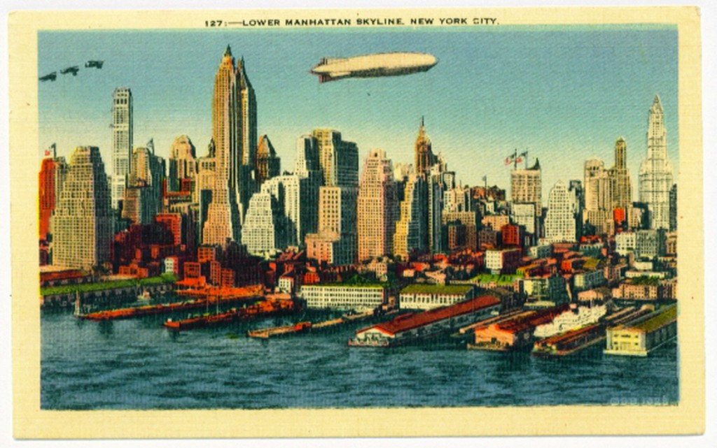 NewYorkNYSkylineBlimp