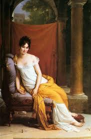Madame Récamier, Jacques-Louis David.