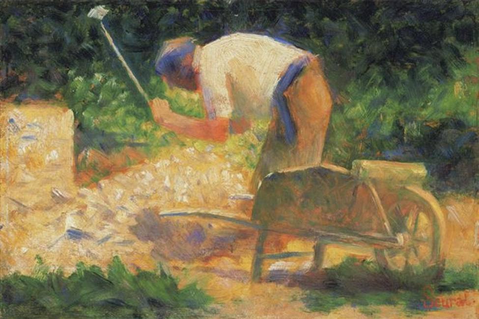 Georges Seurat, The Gardener, 1882