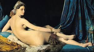Grande Odalisque, Jean August Dominique Ingres, 1814.