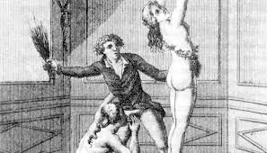 The Marquis de Sade Swings His Whip.