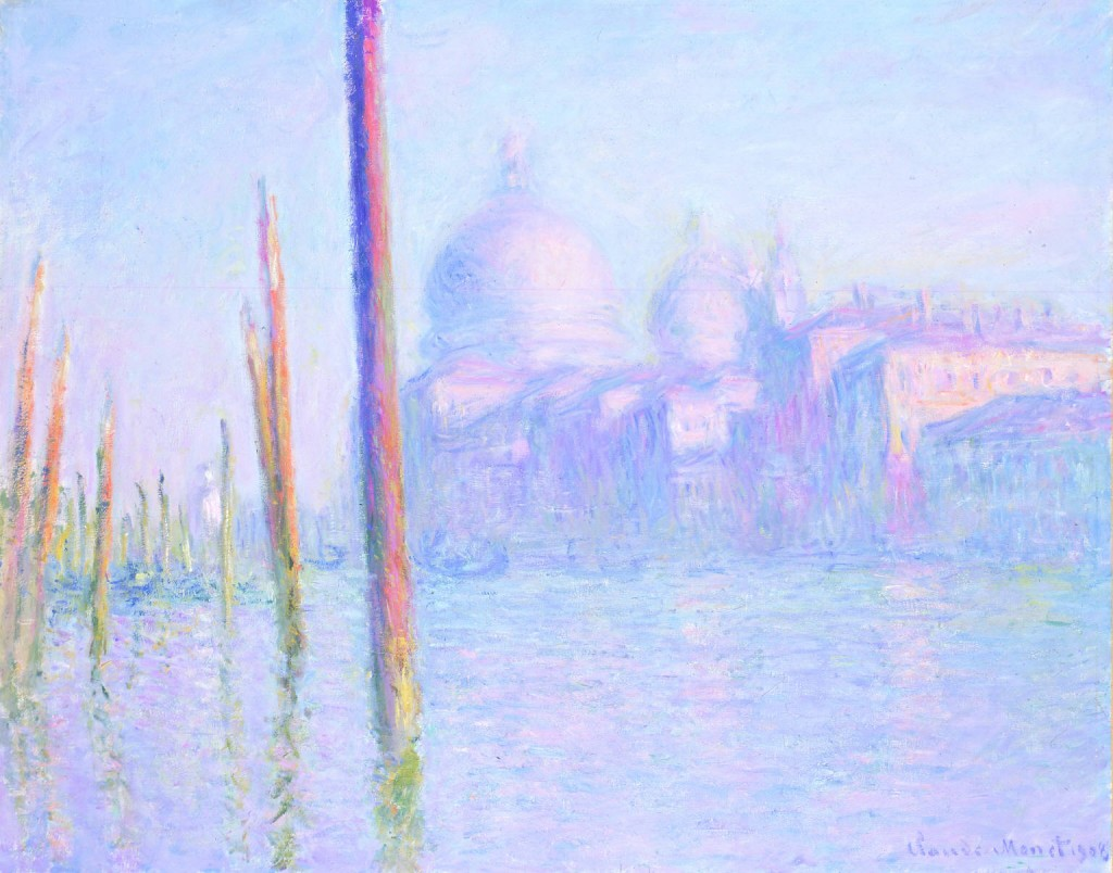 Grand Canal Venice, Claude Monet, 1908, Fine Arts Museum of San Francisco.