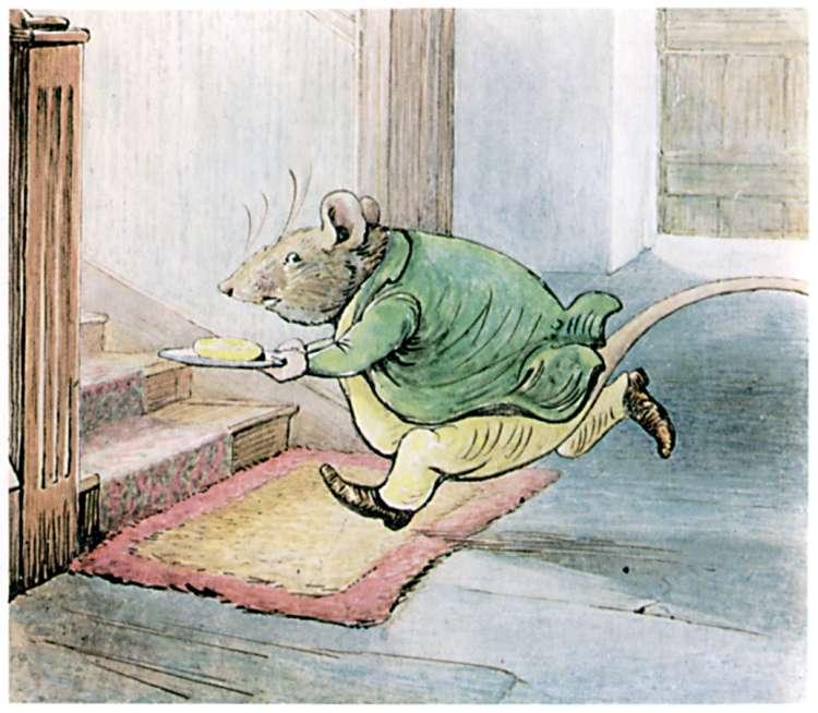 Mr. Rat-Butter, Beatrix Potter.