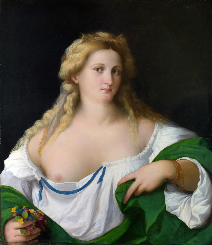 A Blonde Woman, c.1520, Palma Vecchio, National Gallery.