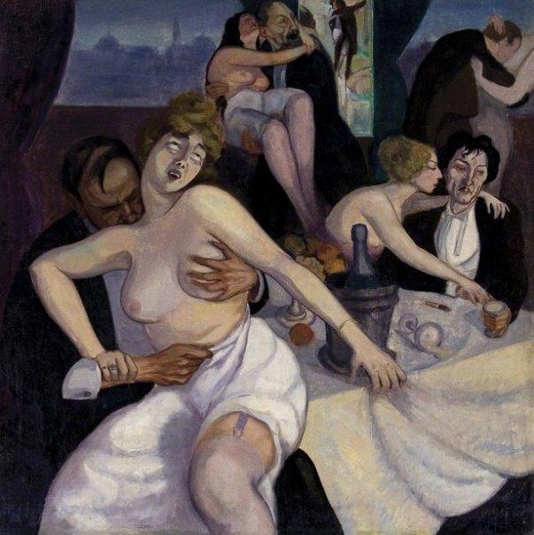 """""""Paris"""" 1920, Shalva Kikodze, 1895-1921."""