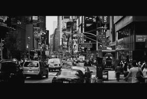 Manhattan Rush Hour, 2011, Alex Proimos.