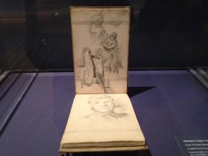 Cezanne sketch book, photo The Sultanette