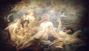 Les sirenes visitees par les muses, Adolphe Lalyre.